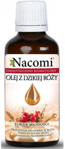 Nacomi olej z dzikiej róży ECO 50ml ciemna butelka