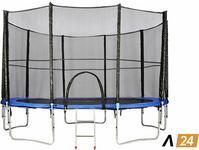 Opinie o Athletic24 244 cm - Trampolina ogrodowa z siatką zabezpieczającą