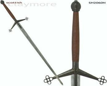 Hanwei SH2060N Miecz  Scottish Claymore