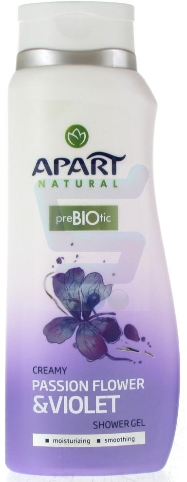 Apart PreBIOtic Żel pod prysznic Passion Flower & Violet hipoalergiczny 400 ml