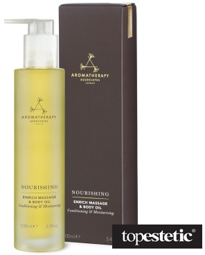 Aromatherapy Associates Nourishing Enrich Massage Body Oil Wzbogacający olejek do masażu ciała enrich 100 ml