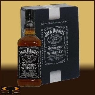 Jack Daniels zestaw prezentowy ze szklankami