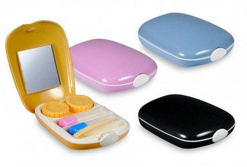 Szara kosmetyczka - zestaw podróżny kosmetyczkaszara