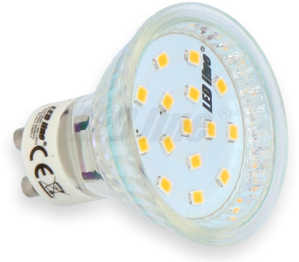 LED Line Żarówka LED SMD GU10 1,5W 230V biała zimna - biała zimna 242267