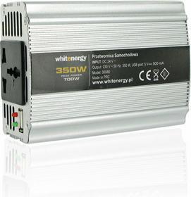 4World PRZETWORNICA SAMOCHODOWA DC 24V-AC 230V 350W Z USB 06580 ZAS4WOPRZ0014