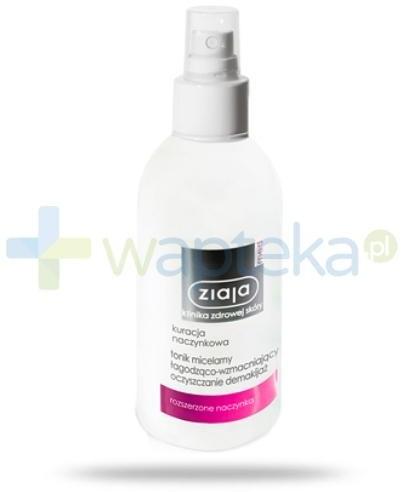 Ziaja LTD. Z.P.L. SP. Z 0.0. Med Kuracja naczynkowa tonik micelarny łagodząco-wzmacniający 200 ml 7070099