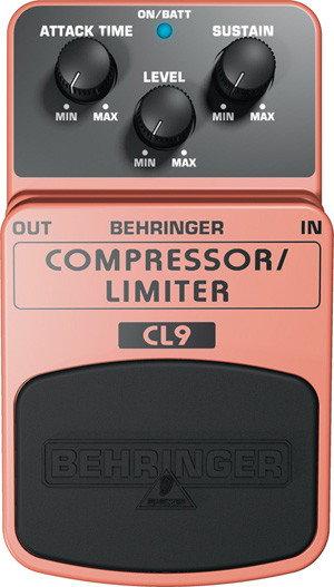 Behringer COMPRESSOR/LIMITER CL9 - efekt gitarowy