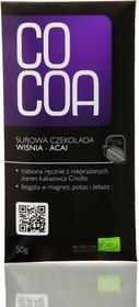 Cocoa Czekolada wiśnia acai BIO 50g