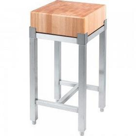 Stalgast Kloc masarski drewniany 400x400x100 mm 684410