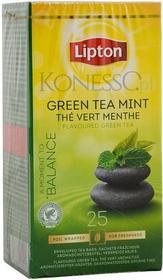 Lipton Zielona herbata Classic Green Tea Mint 25 kopert
