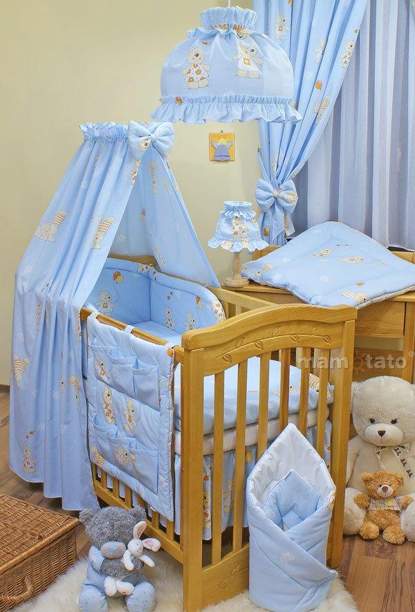 Mamo-Tato Lampka nocna Baloniki błękitne