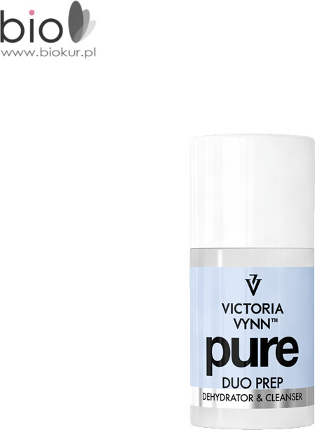 Pure VICTORIA VYNN DUO PREP Płyn o podwójnym zastosowaniu do odtłuszczani płytki i przemywania stylizacji 60 ml