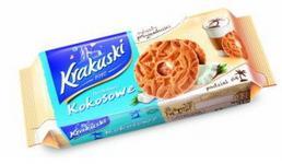 Krakuski HERBATNIKI KOKOSOWE 125G