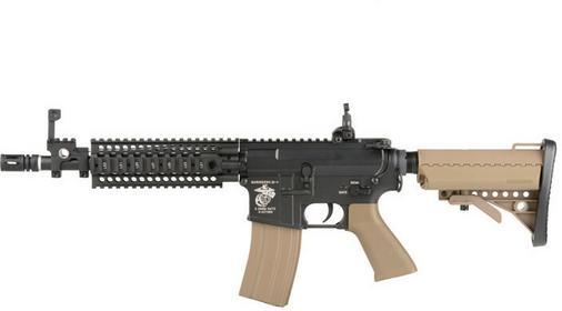Specna Arms Karabinek szturmowy AEG SA-V01 - half-tan (SPE-01-005885) G