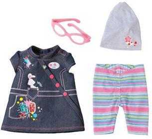 Zapf Creation Kolekcja Jeansowa z sukienką Deluxe 822210