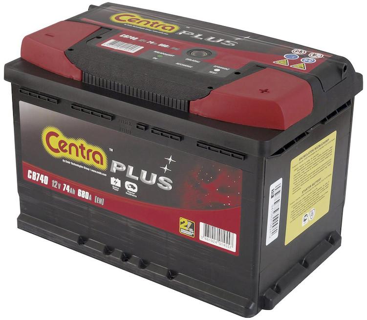 Centra Plus 12 V 74Ah 680A P+ CB740