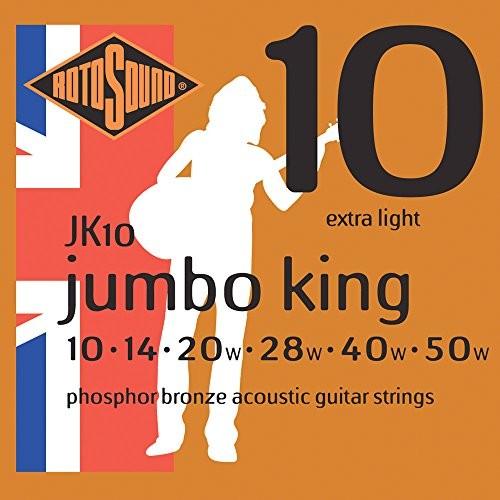 Rotosound rotos górne Jumbo King Acoustic Guitar Strings JK10