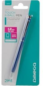 OMEGA Rysik OMEGA Stylus Pen 2in1 Niebieski