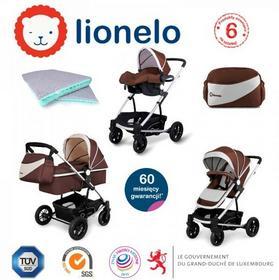 LIONELO  LUNA 3w1 Brązowy