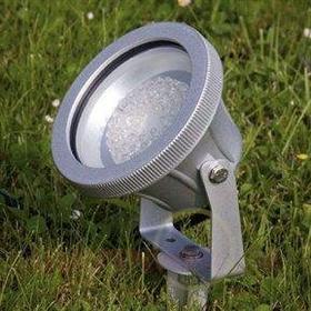 Reflektor zewnętrzny LED CARBONLED 6000 K srebrny