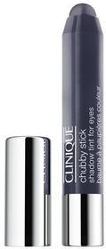 Clinique Chubby Stick Shadow Tint For Eyes cienie do powiek w kredce 08 Curvaceous Coal 3g