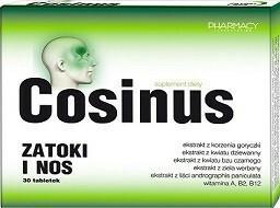 Cosinus Zatoki i nos 30 tabletek