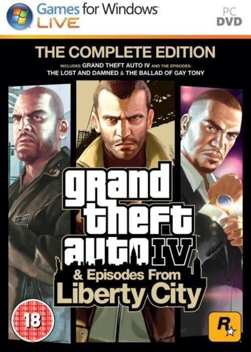 Grand Theft Auto 4 Complete Edition PC
