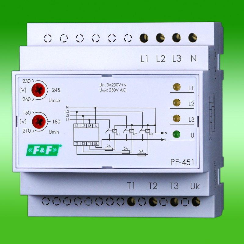 Opinie o F&F Filipowski s. j. Automatyczny Przełącznik faz PF-451