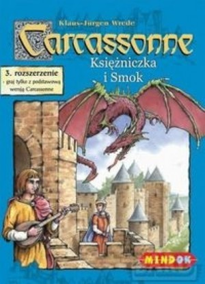 MindOK Carcassonne: Księżniczka i Smok