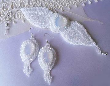 Komplet Biżuteria Królowej Śniegu