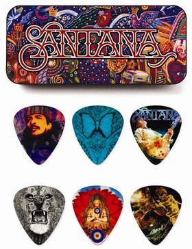 Dunlop SANPT02H Santana kostki gitar puszka 6szt DUNSANPT02HKGZ