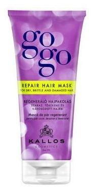 Kallos GOGO maseczka regenerująca do suchych, łamiących się i uszkodzone włosów -