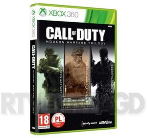 Call of duty Modern Warfare Trylogia X360