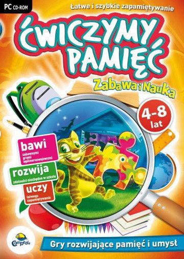 Zabawa i Nauka: Ćwiczymy pamięć 4-8 lat PC