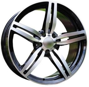 Racing Line FELGI 18'' 5X120 BMW 1 2 3 E88 F20 F22 E90 F30 X3 18X8.5 5X120 ET35 72.56 XFE33 MB (REAR+FRONT) For
