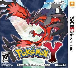 Pokemon Y 3DS