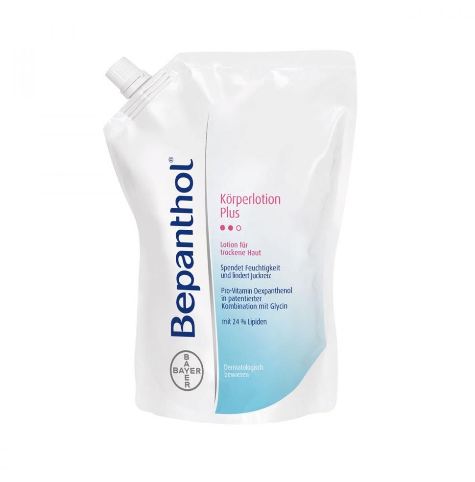 Bayer Bepanthol Plus balsam do ciała saszetka uzupełniająca Vital GmbH 400 ml