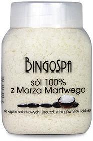 BingoSpa 100% sól z Morza Martwego 1250g