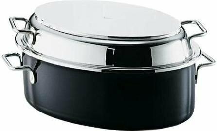 Silit Multibräter Professional oval - Brytfanna z pokrywą ze stali nierdzewnej 3