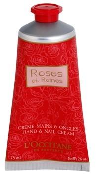LOccitane Rose krem do rąk z różanym aromatem Hand & Nail Cream 75 ml