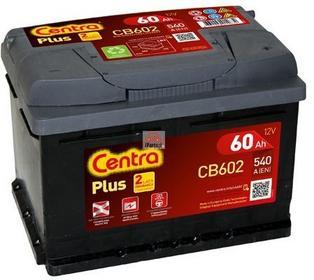 Centra PLUS CB602 60Ah 540A