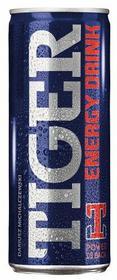 Tymbark Gazowany napój energetyzujący Tiger Energy Drink 250 ml