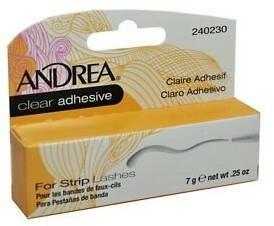 Andrea klej Clear for strip lashes nr 240230 7g/.25oz