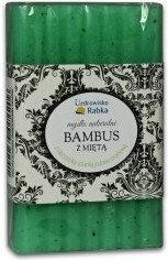 Uzdrowisko Rabka Mydło w kostce Naturalne w kostce - bambus z miętą 130g + Mydelniczka GR
