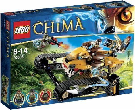 LEGO Chima Królewski pojazd Lavala 70005
