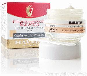 Mavala NAILACTAN - odżywczy Krem do zniszczonych paznokci XX0184