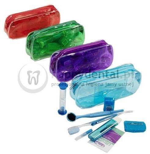 Pozostale ZESTAW ortodontyczny w etui PLAK SMAKER szczoteczki + akcesoria ortodo
