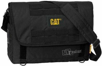 Caterpillar CAT Combat torba na ramię - laptop 15,6 - czarny 83151-01