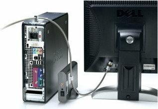 Kensington Zestaw zabezpieczający Desktop & Peripherals Locking Kit (PC)