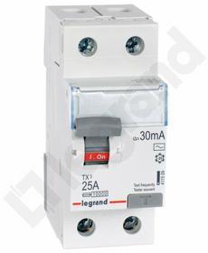 Legrand Wyłącznik różnicowoprądowy P 302 25 A 30 mA AC - 411509